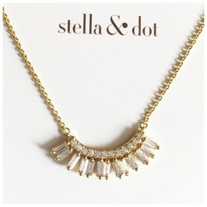 Stella & Dot The Baguette Blitz Necklace